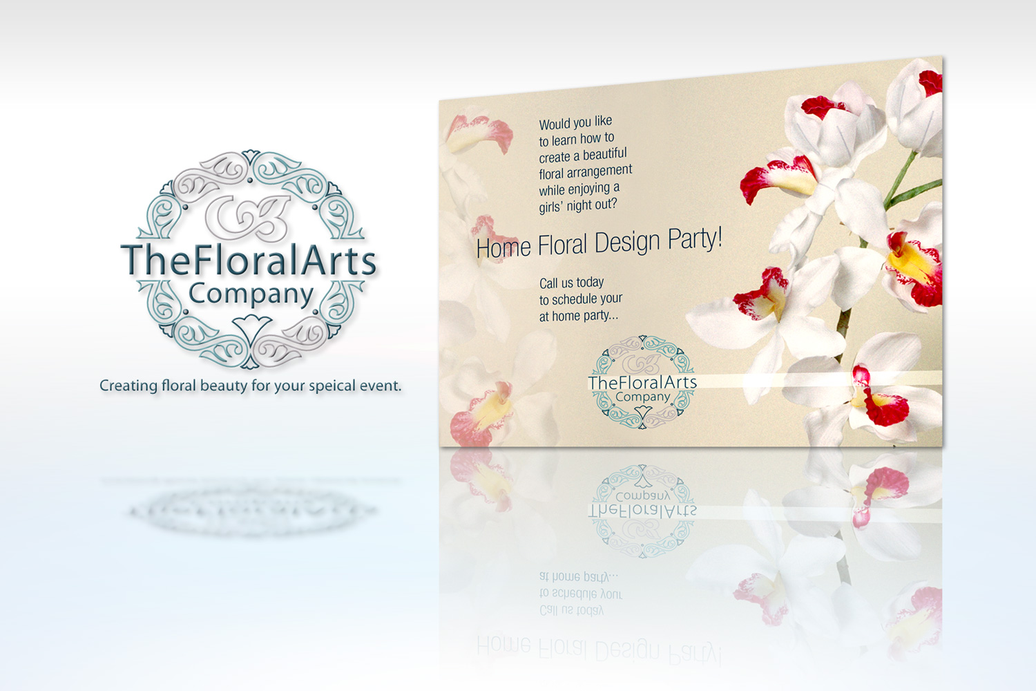 The Floral Arts Company - Promotional Mailer